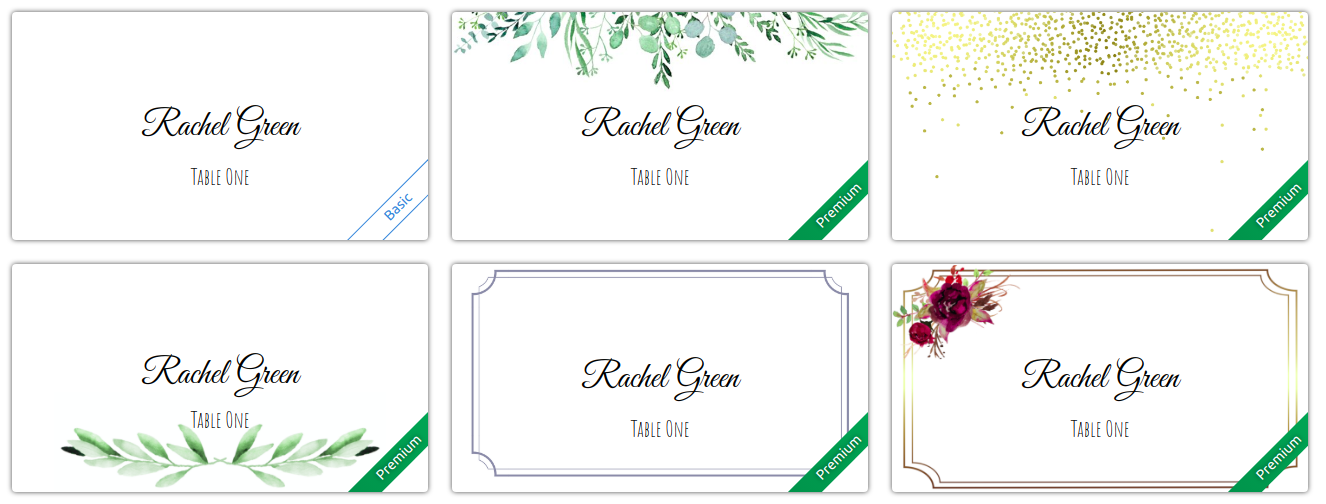 Place Card Me Prices New